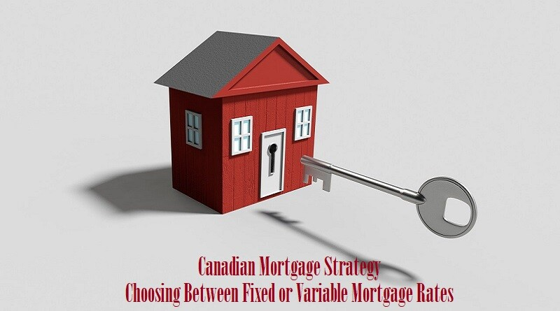 Canadian Mortgage Strategy Choosing Between Fixed or Variable Mortgage Rates