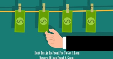Don't Pay An Up-Front Fee To Get A Loan! Beware Of Loan Fraud & Scam