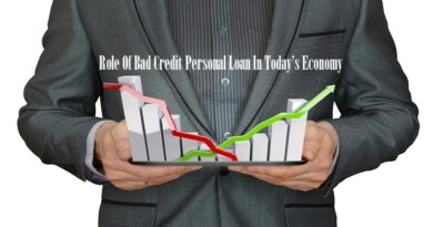 Role Of Bad Credit Personal Loan In Today's Economy