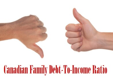 Canadian Family Debt-To-Income Ratio Hits Record High