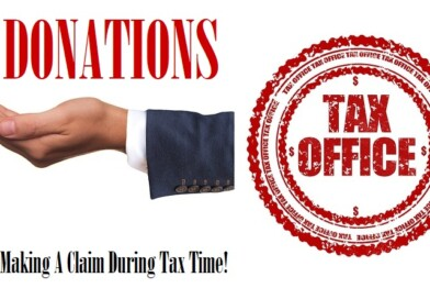 Donations: Making A Claim During Tax Time