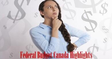 Federal Budget Canada 2013 Highlights