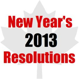 New Year's Resolutions - I Wish I Could Get Financial Comfort And Joy