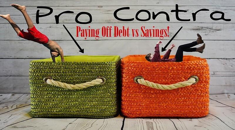 Paying Off Debt vs Savings
