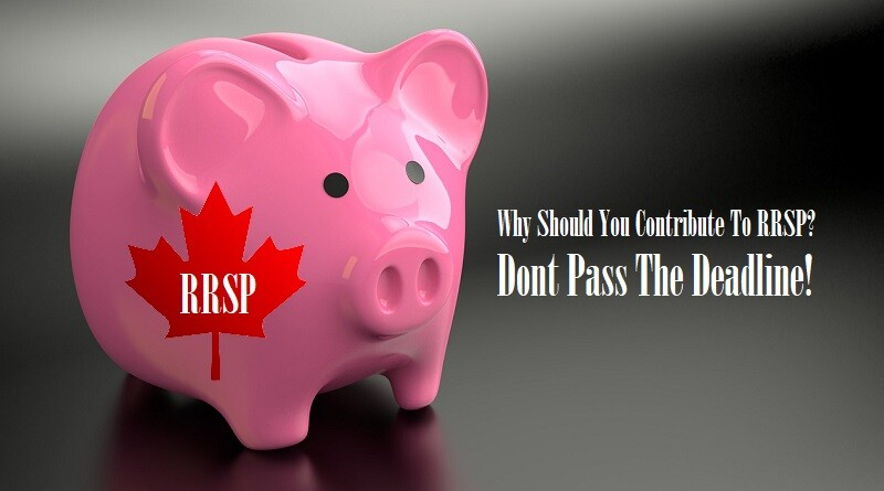 Why Should You Contribute To RRSP Don't Pass The Deadline