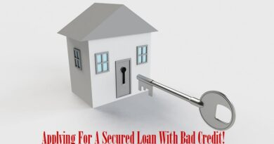 Applying For A Secured Loan With Bad Credit
