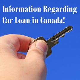 Information Regarding Car Loan in Canada