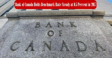 Bank Of Canada Holds Benchmark Rate Steady At 0.5 Percent In 2017