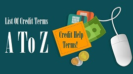 Credit Help Terms