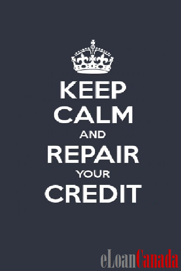Keep Calm And Repair Your Credit