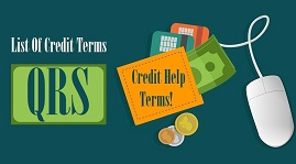 List Of Credit Terms Q R S